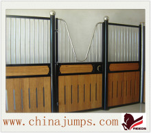 Professional manufacturer customized wooden bamboo material horse stable