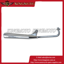 stainless steel exhaust system high quality super weld motorcycle stainless steel polished muffler