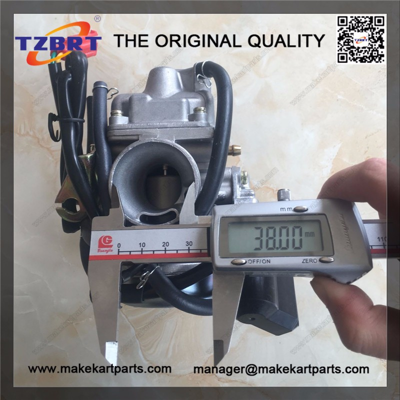 Factory production of gy6 125cc carburetor
