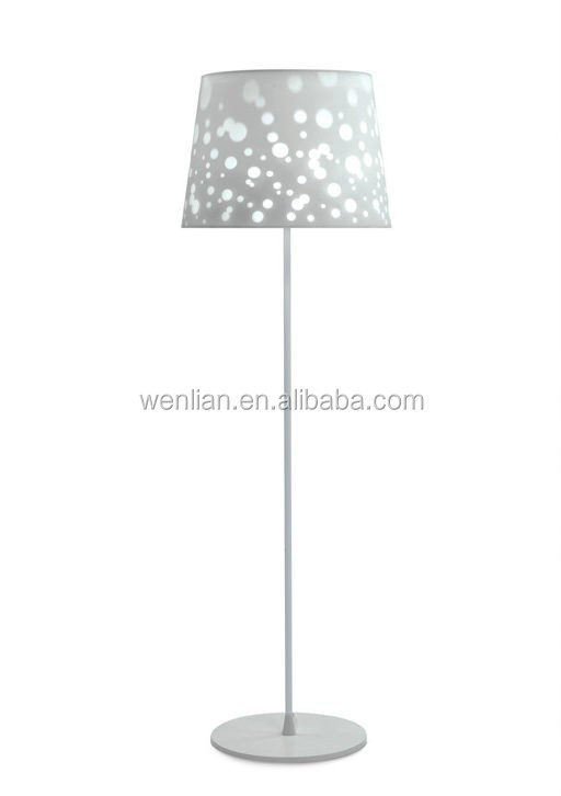 Elegant charming dotted motif floor lamp,contemporary floor lamp for guest room