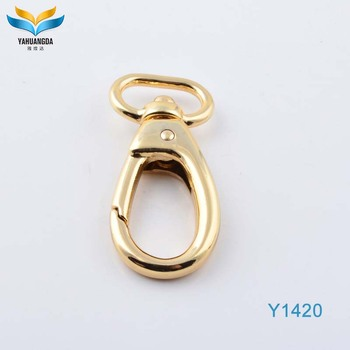 YHD flat metal cheap bag hook accessories for purse