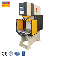 Servo System 10 Ton C Frame Hydraulic Bearing Press Manual Hole Punch Machine