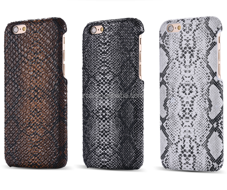China factory snake skin material mobile phone hard case for i6 i5 i4 IPhone6 IPhone5