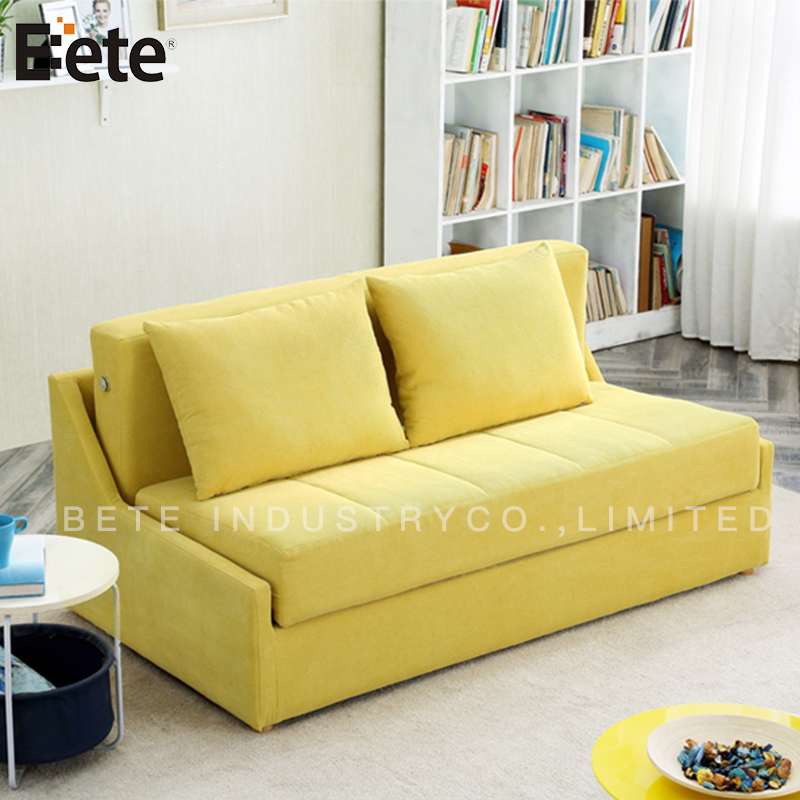 hot new designs storage box folding out sofa bed for small living room