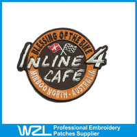 Wonderful Embroidered Patches plain patches for clothing with high quality