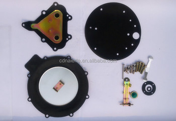 Natural gas engine repair kit diaphragm for regulator