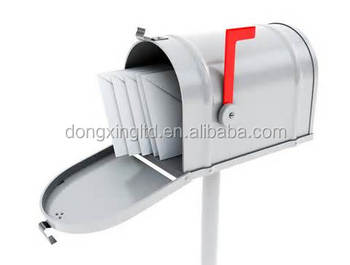 Stainless steel mailbox with stand