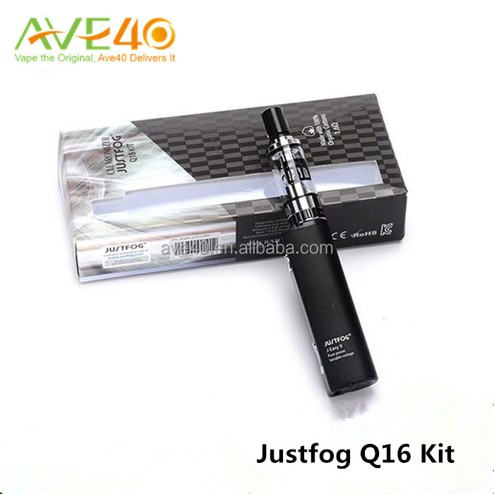 Authentic cool design Justfog Q16 Kit with 9000mah Li-ion battery