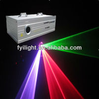 FYI-L001 RGB Full Color Animation Laser light 5W