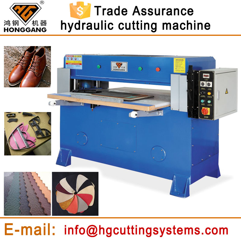 high quality mould rubber sheet cutting machine