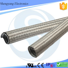 SY Electrical Wire Protect Stainless Steel Wire Braided Hose
