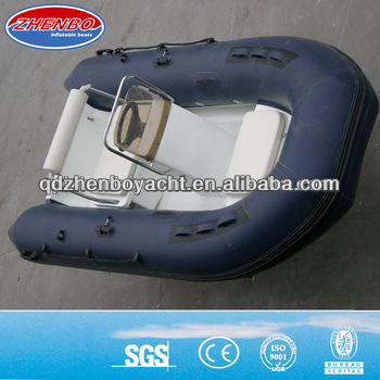 Hot sale china 350 rib hypalon inflatable boat inflatable fishing boat