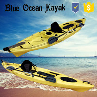 Blue Ocean 2015 hot sale May style kayak with pedals/atv kayak with pedals/fishing kayak with pedals