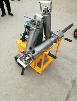 Diesel driven hydraulic rock splitter with great quality quarry stone cutting machine