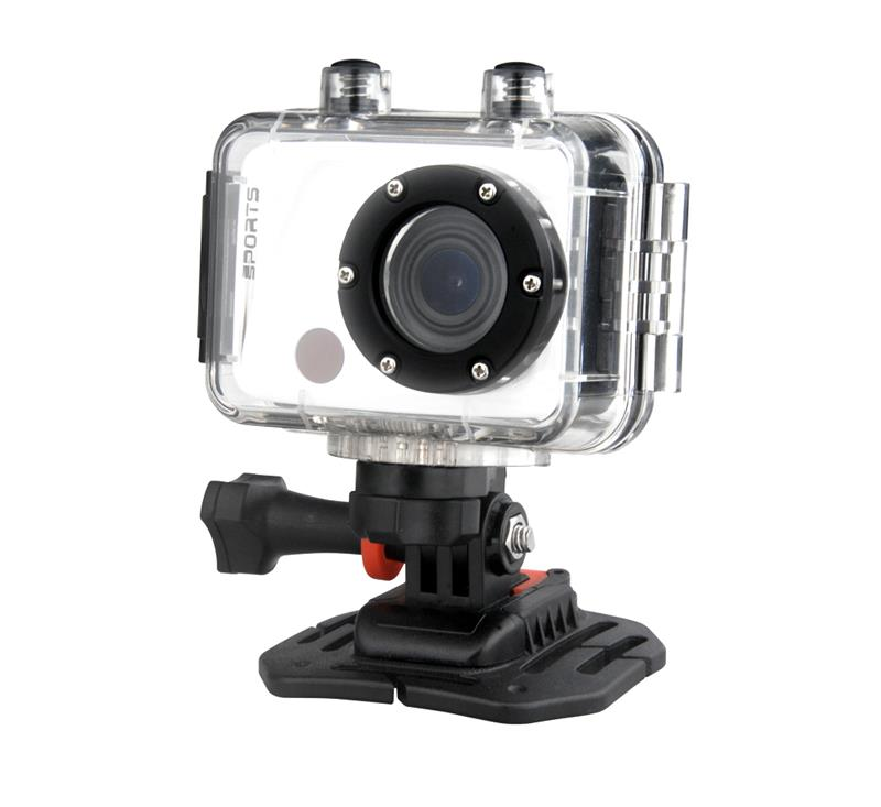 F40 Sport Action Camera Full HD 1080P Mini Camcorder Video Camera with Infrared Remote Control, Support TF Card, 100 Degree View