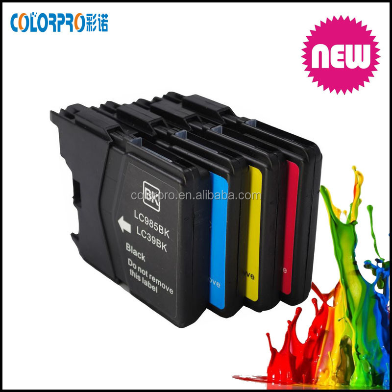 LC39 LC60 LC975 LC985 compatible ink cartridge for Brother DCP-J125 /DCP-J315W /DCP-J515W MFC-J265W /MFC-J410 /MFC-J415W