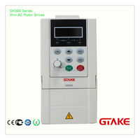 GTAKE speed sensorless vector control Speed regulation and energy saving AC motor drive (VFD) 0.4KW-3.7KW (1/2HP-5HP)