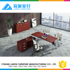 2015 high quality executive wooden office table design LS-01