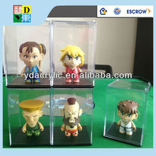 "Acrylic Display Case/ Stand For 3"" inches Kid-robot mini figure Toys/high quality acrylic display case made in China"