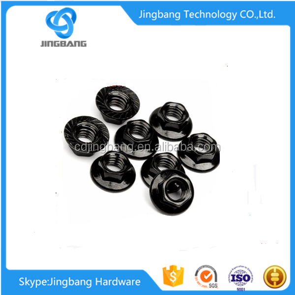 stainless steel Hex Flange Nuts of bolts and nuts set