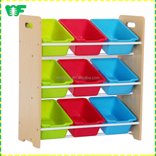 New model decorative wooden book storage boxes