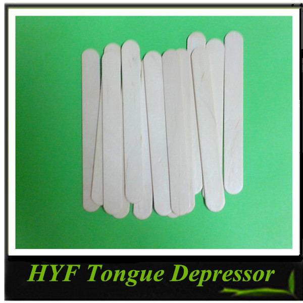 High Quality Disposable Wooden Tongue Depressor By Machine