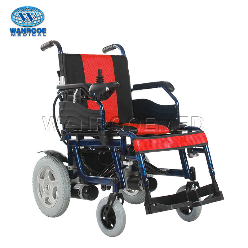 BWHE602 Portable Folding Electric Motorized Wheelchair Used For The Disabled