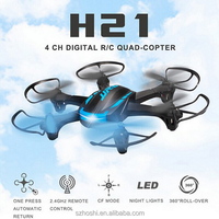 Newest Mini Drone JJRC H21 6CH Headless Mode One Key Return RC Dron Quadcopter helicopter RTF 2.4GHz Best Gift For Kids