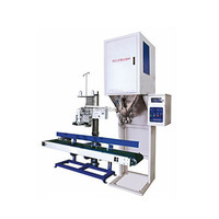 china made PLC control manual powder filling machine 10-50kg