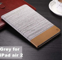 Jean style leather case with card slot Custom printed case for IPADMINI