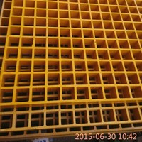 High strength and durable industrial pultruded platform walking FRP grating, fibreglass floor grating, plastic grating