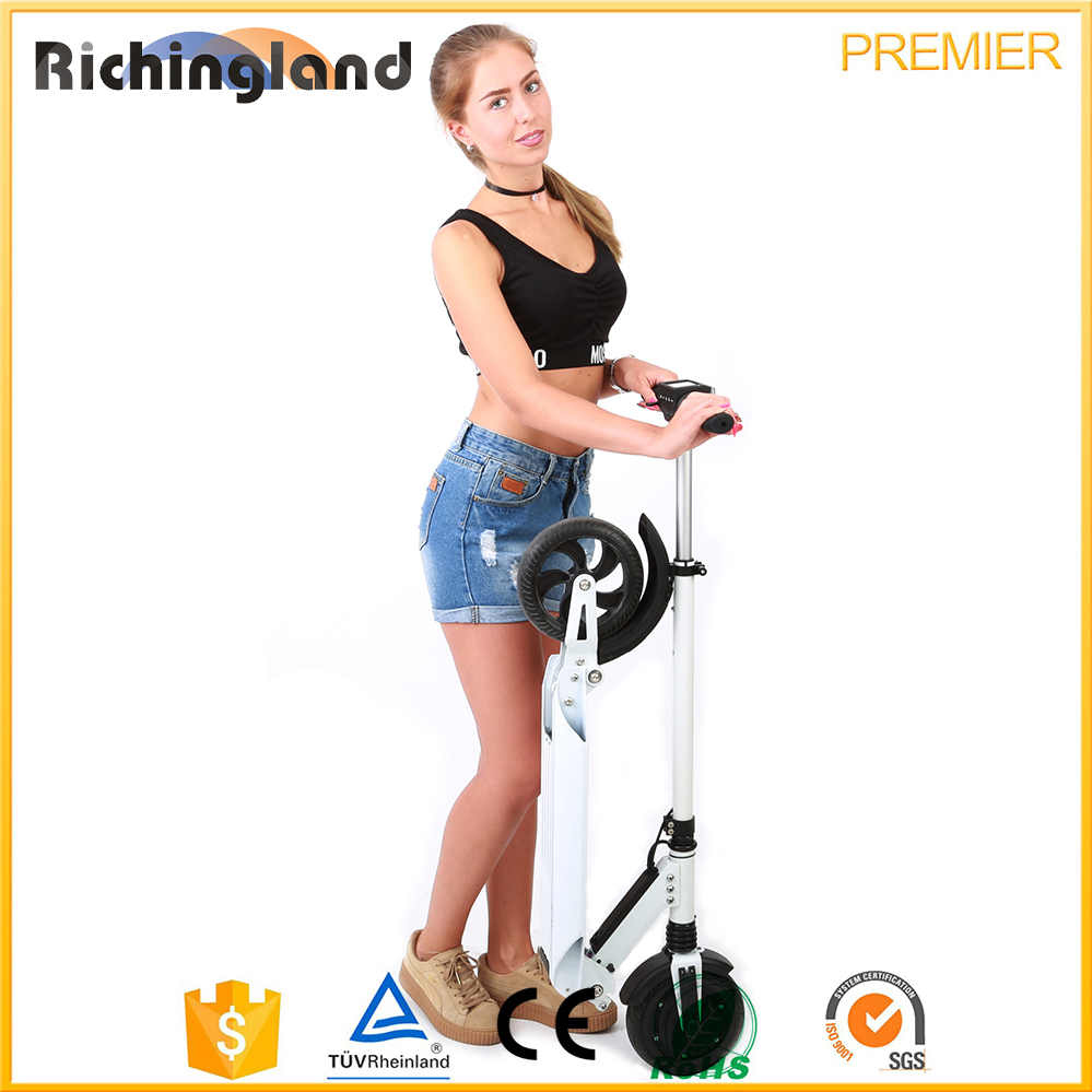 Hot new products for 2016 foldable electric scooter for adults hoverboard electric scooter
