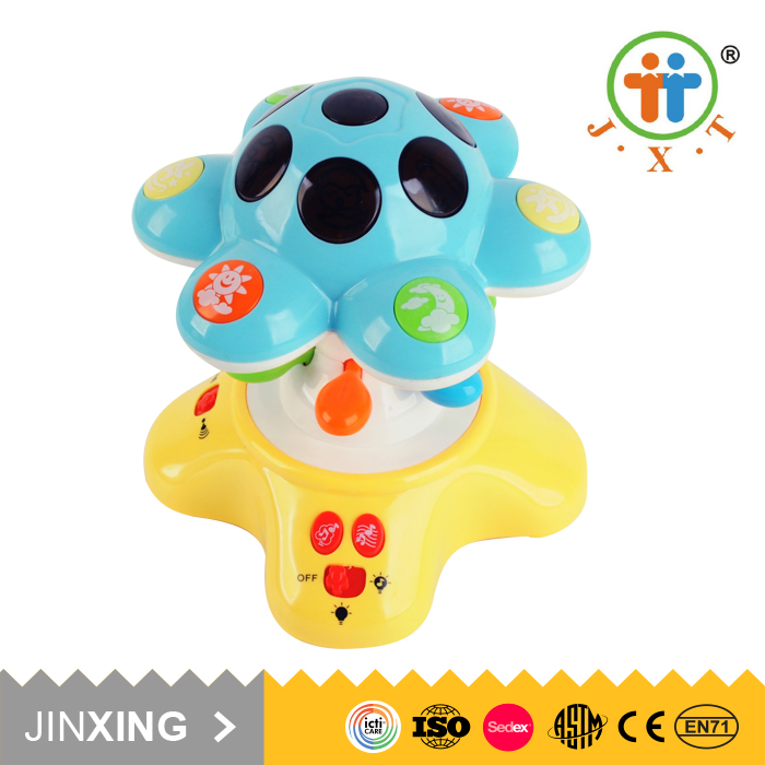 Alibaba best sellers christmas sleeping music baby light toy for kids