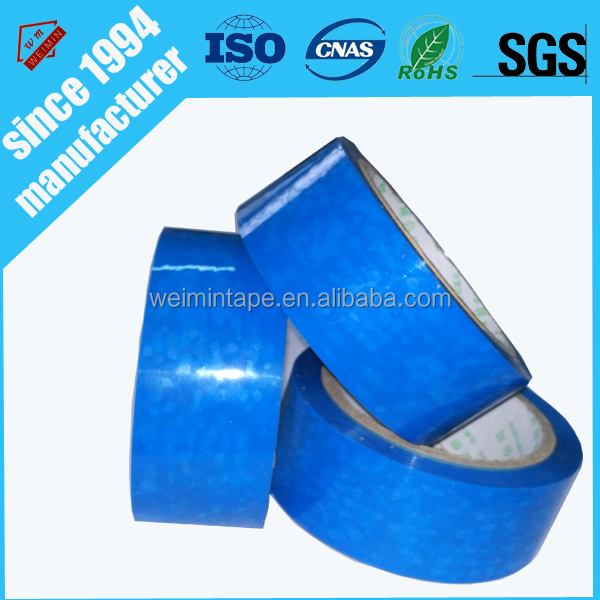 Silicone Rubber Film Blue Pet Tape from China Supplier Free Sample
