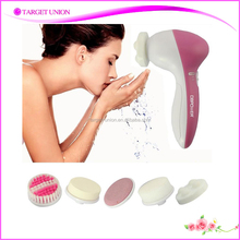 5in1 Multifunction Electric Face Facial Cleansing Brush Spa Skin Care Massage