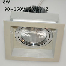 new products! HIGH quality led grille lamp 8w china supplier