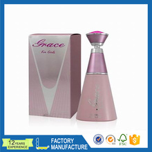 High Quality Rigid Printed Paper Folding Box for Perfume Packaging