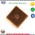wholesale portable bamboo mini acoustic speaker wood wireless mini bluetooth speaker BSW21