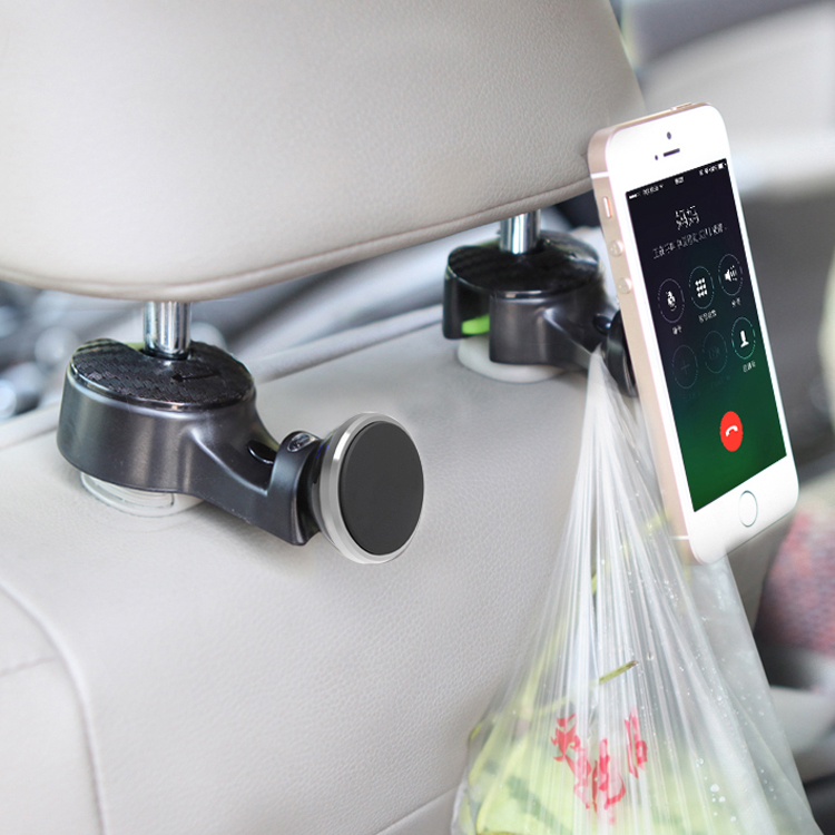 Universal Car headrest Hanger Hook Car Seat Mobile Phone Holder for the iPhone/iPad