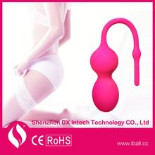 APP bluetooth control Kegel ball small vibrator, APP compatible anime sex toy masturbator