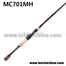 In Stock carbon fiber Bass Fishing 1pc Bait Casting Rod