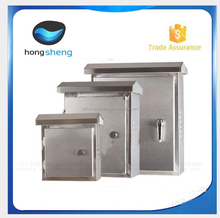 IP55 protection level outdoor wall mounting waterproof control box