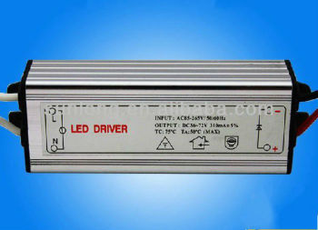 Waterproof Constant Current Led light Driver 60W 1500mA 30-40V IP67 10series in 6paralle