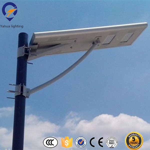 High performance led intergrated solar street light
