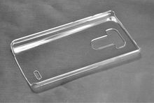 2014 New arrival clear waterproof clear PC hard mobile phone case for LG G3
