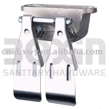 cast double foot / knee contral sink faucet