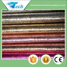 HOT SELL BEST NEW PU METALLIC LEATHER FOR SHOES AND BAGS