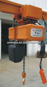 Electric Chain Hoists with trolley/electric chain hoists3t