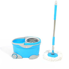 assemble 360 spin magic mop bucket with wheels