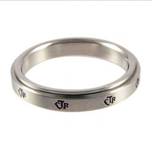 Yiwu Aceon Spinner Stainless Steel Wholesale Mini Band CTR Ring
